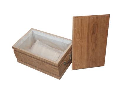 OXEO cercueil en chene pour chien