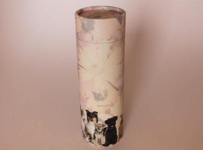Urne chien biodégradable
