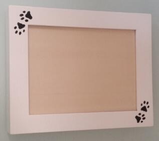 Urne cinéraire chat avec cadre photo