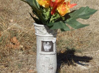 vase tombal decoratif pour ornement tombe