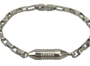 Bracelet funéraire métal