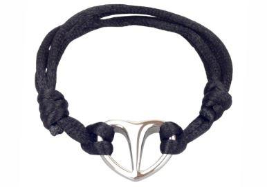 Bracelet cinéraire coeur