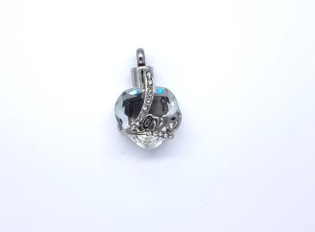urne pendentif coeur Love