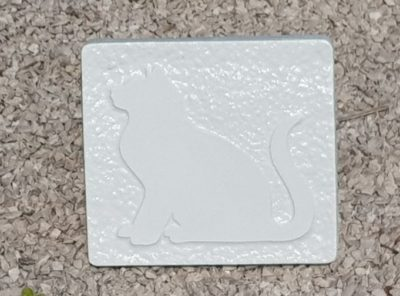 "Plaque tombale ""Chat"""