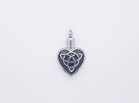 pendentifif coeur trinté celtique