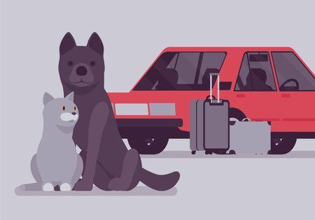 voyager avec son chien ou chat